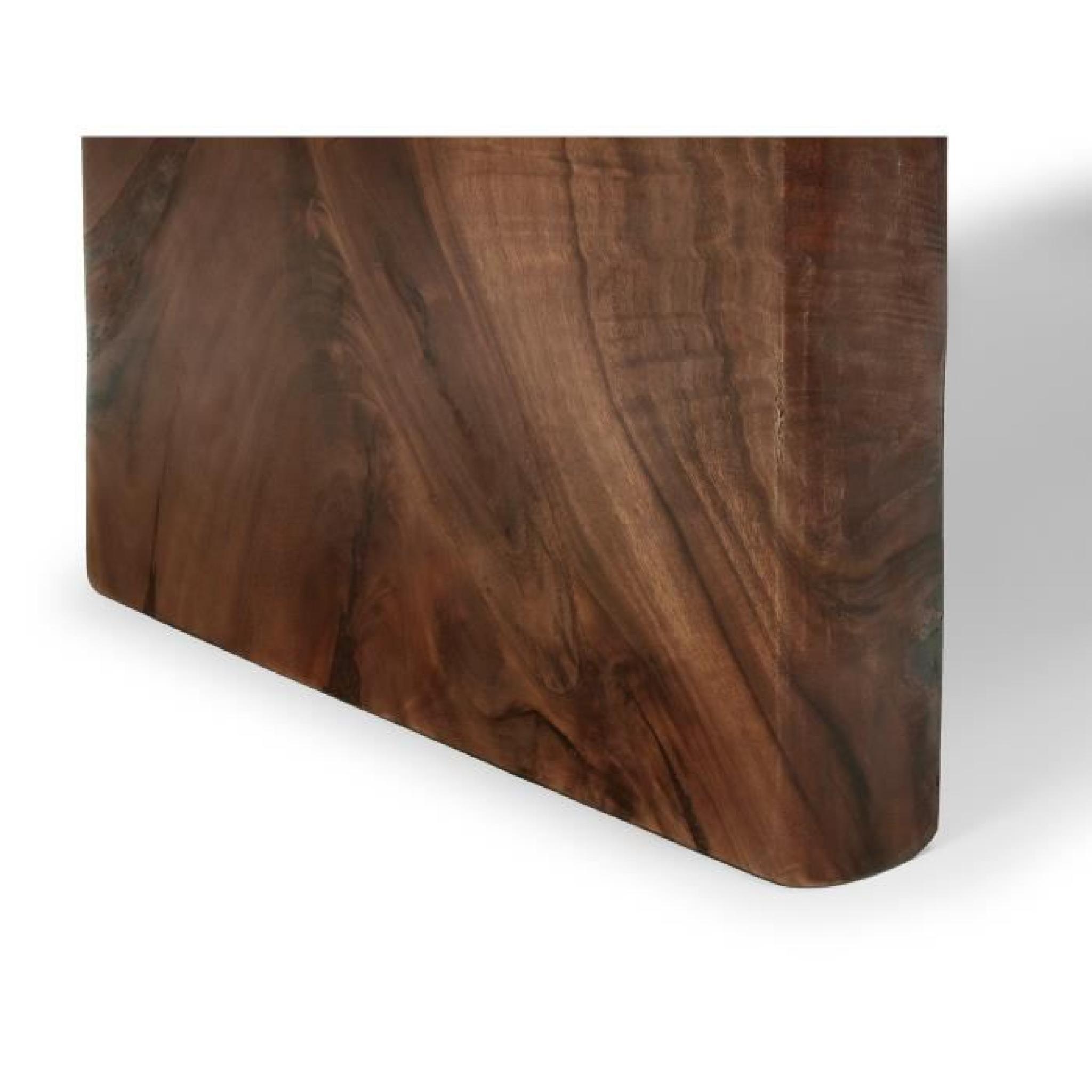 Table manger one piece 200x120 en bois de suar massif for Salle a manger bois massif pas cher