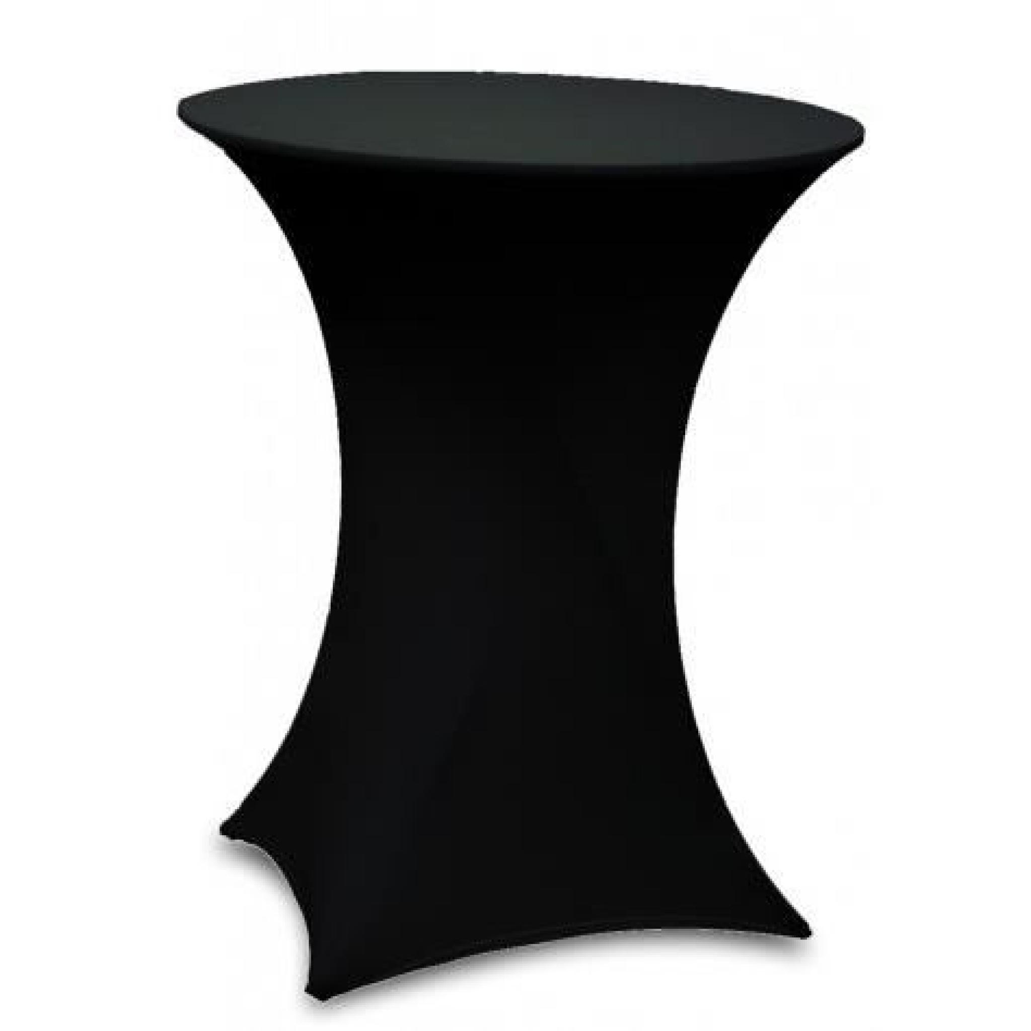 table bar pliante mange debout housse noir achat vente. Black Bedroom Furniture Sets. Home Design Ideas
