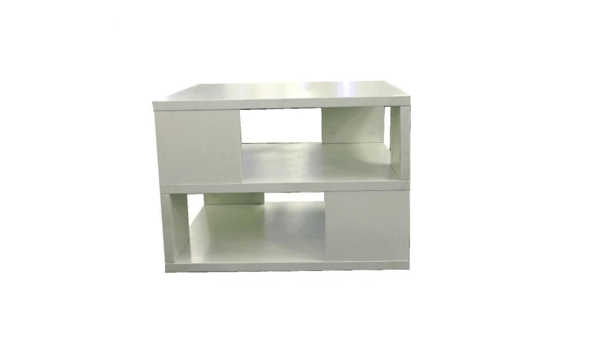 osia table basse acajou rectangulaire 120x75x35 cm achat vente table basse pas cher couleur. Black Bedroom Furniture Sets. Home Design Ideas