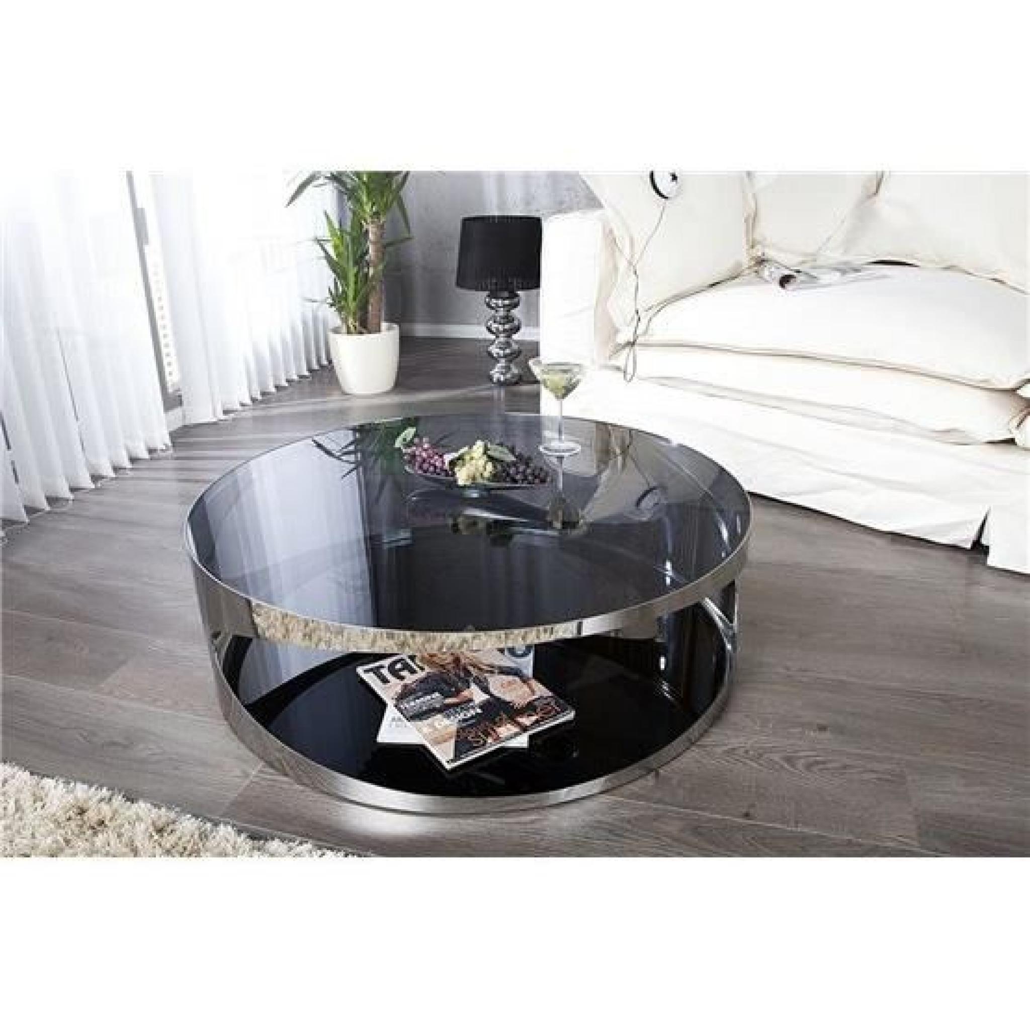 Acheter Table Basse Excellent Table Basse Design En Verre Danae