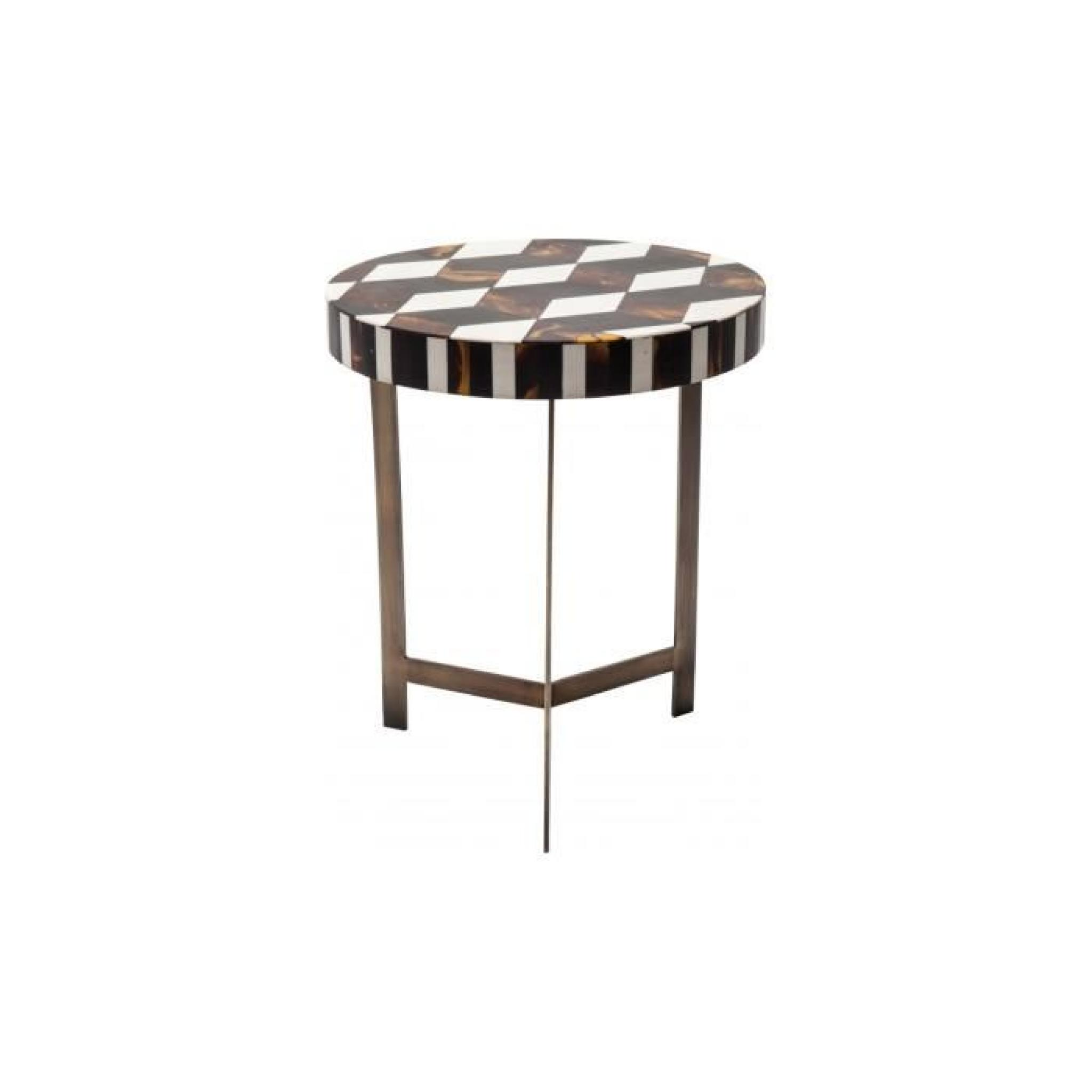 5592bb7e53c977 Table Basse Musivo Round 4 set Kare Design - Achat Vente table basse ...
