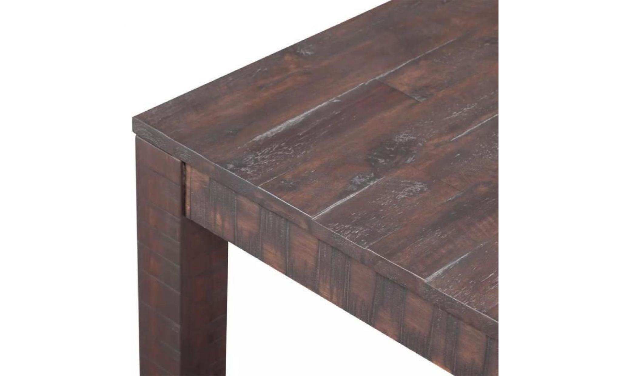 De Aspect Salon Cm Basse 105x55 X45 Massif Table Bois D'acacia wkilXZuOPT