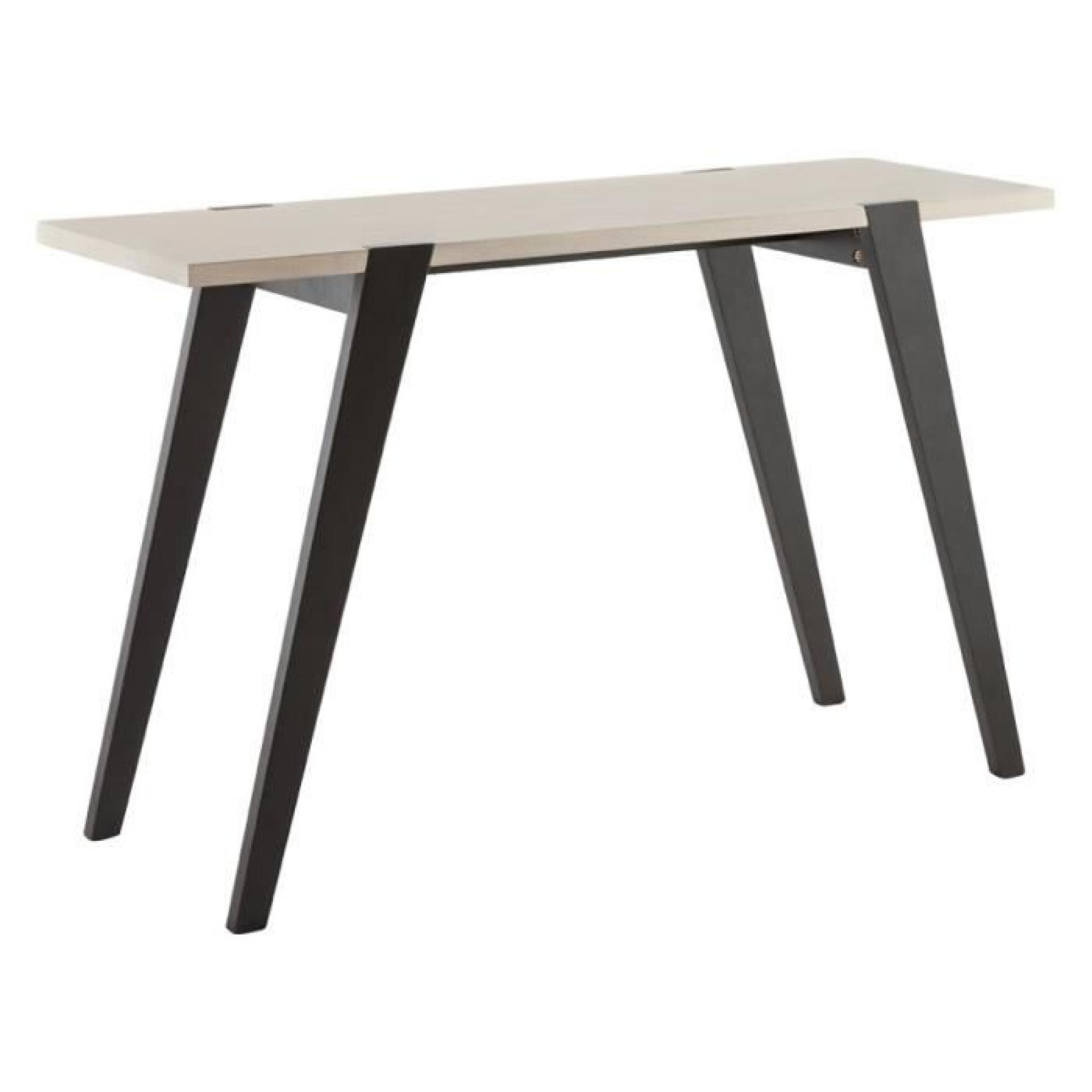table console 39 treto 39 design en bois ch ne achat vente. Black Bedroom Furniture Sets. Home Design Ideas