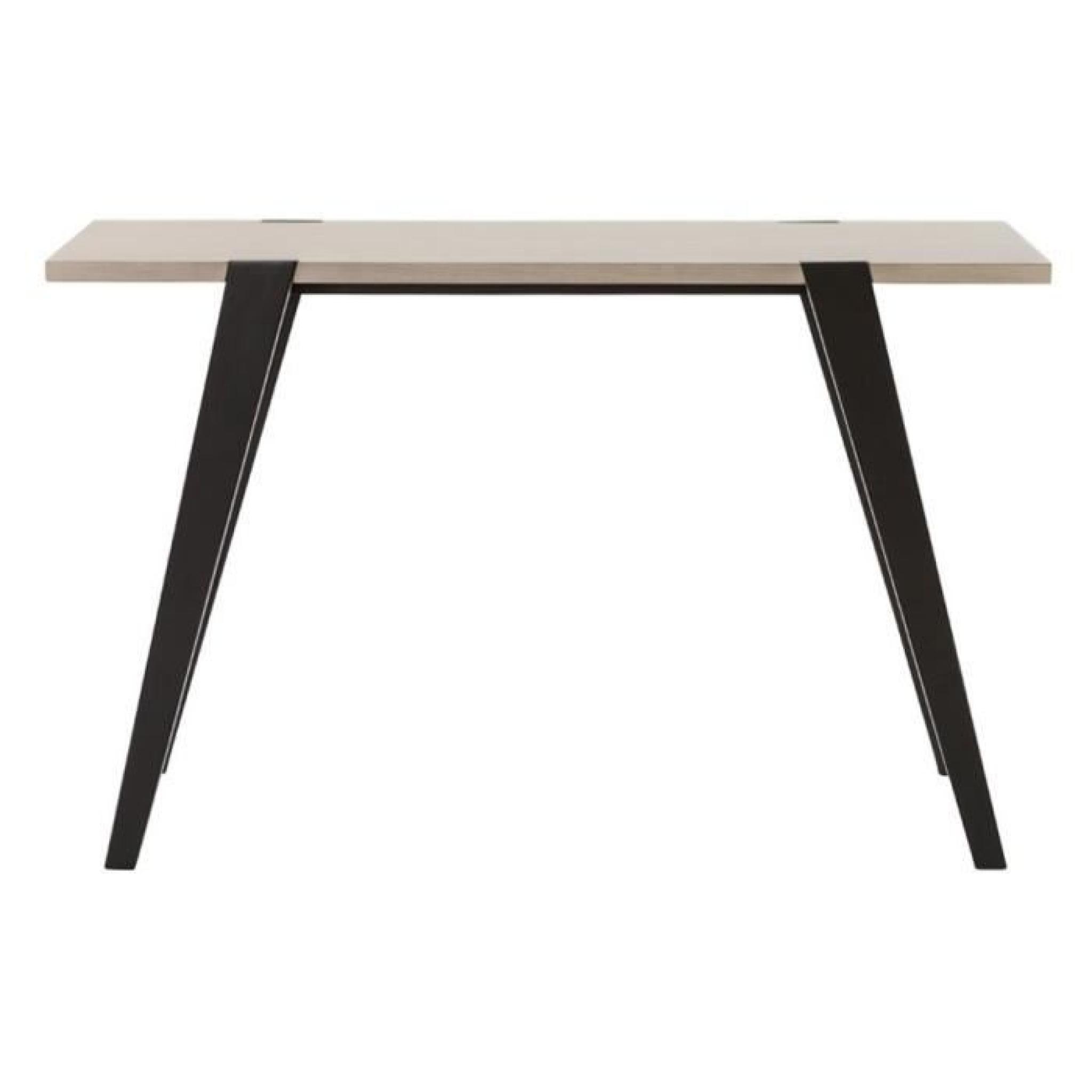table console 39 treto 39 design en bois ch ne achat vente ensemble salle a manger pas cher. Black Bedroom Furniture Sets. Home Design Ideas