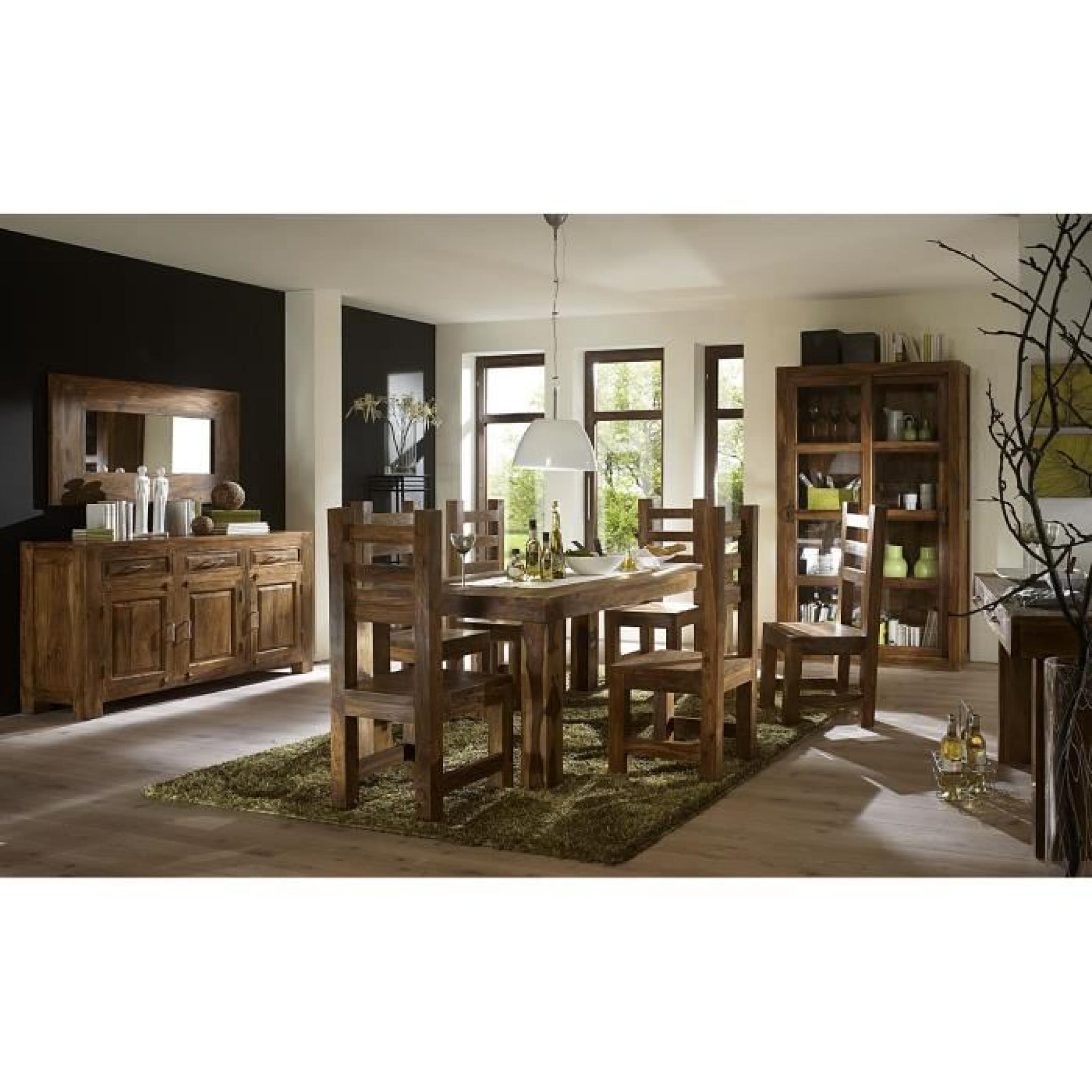 table cubus 120x80 avec rallonges en palissandre miel achat vente table salle a manger pas. Black Bedroom Furniture Sets. Home Design Ideas