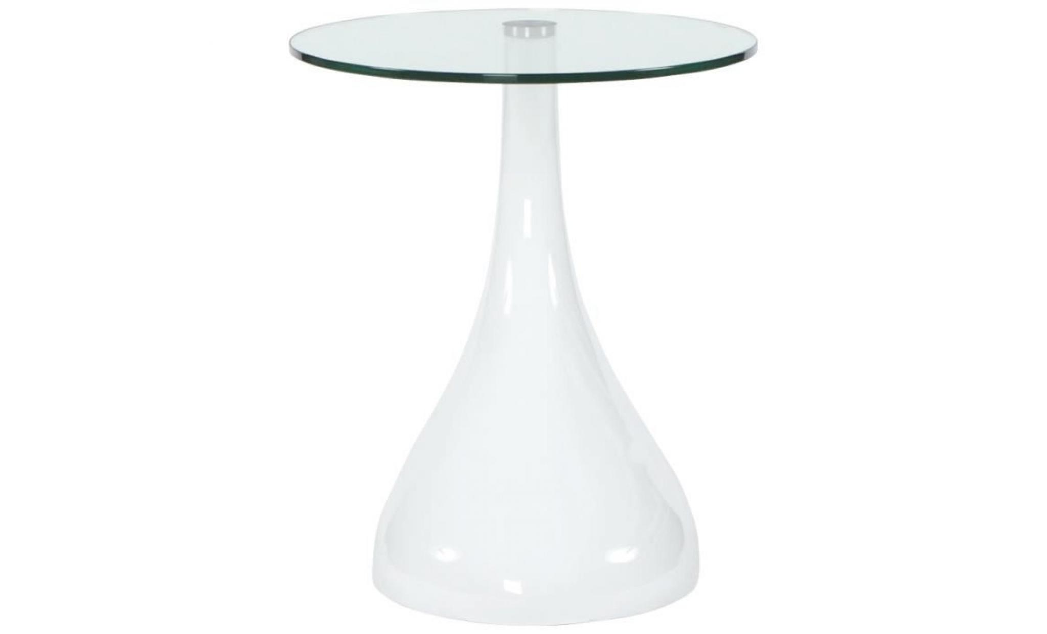 Table d 39 appoint 39 koma 39 console design en verre achat - Table d appoint design pas cher ...