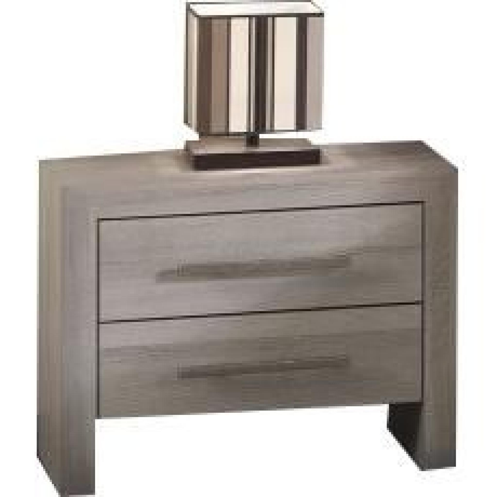 Table de chevet coloris ch ne gris achat vente table de chevet pas cher c - Table de chevet couleur taupe ...