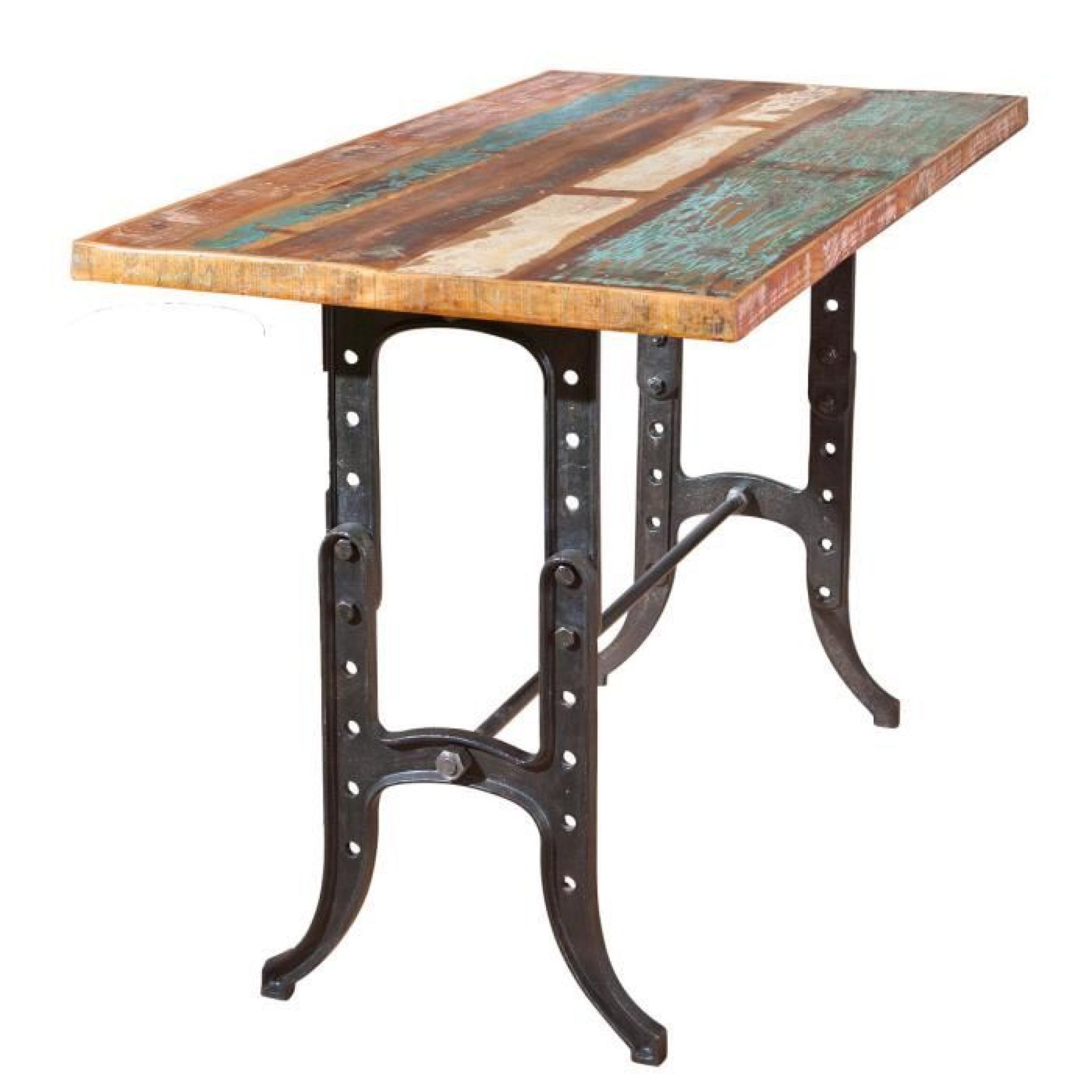table de cuisine bar rectangulaire plateau mang  achat