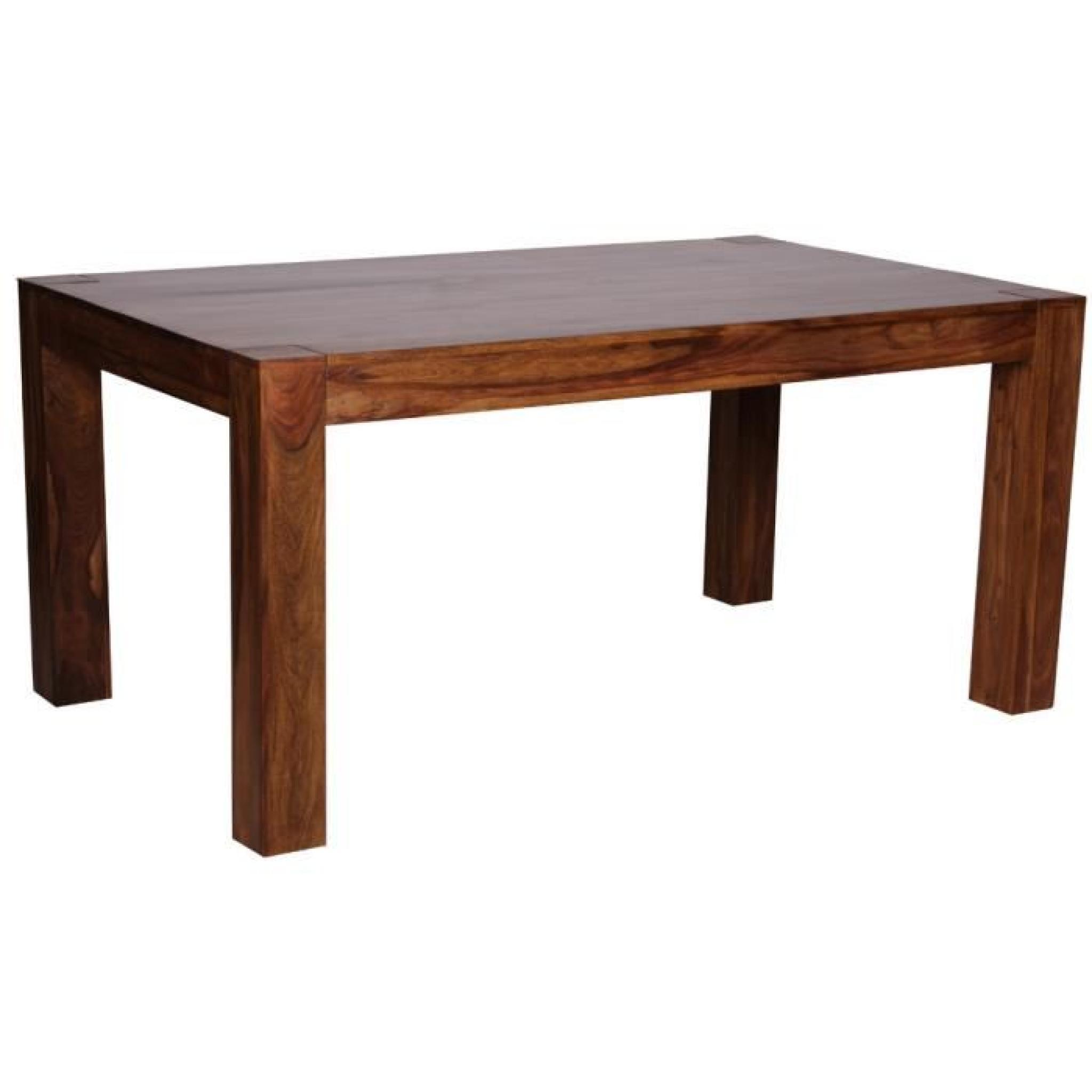 Table De Salle à Manger En Bois Massif De Palissandre Long 160