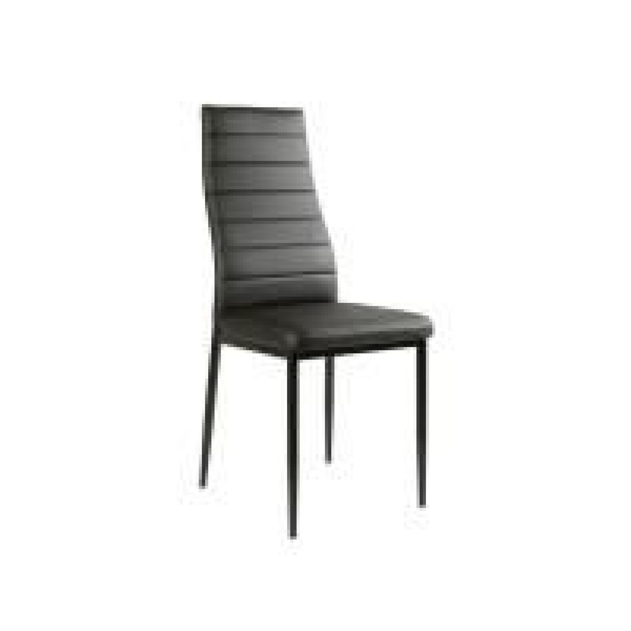 Table en verre 6 chaises noir malia achat vente table for Table en verre 6 chaises