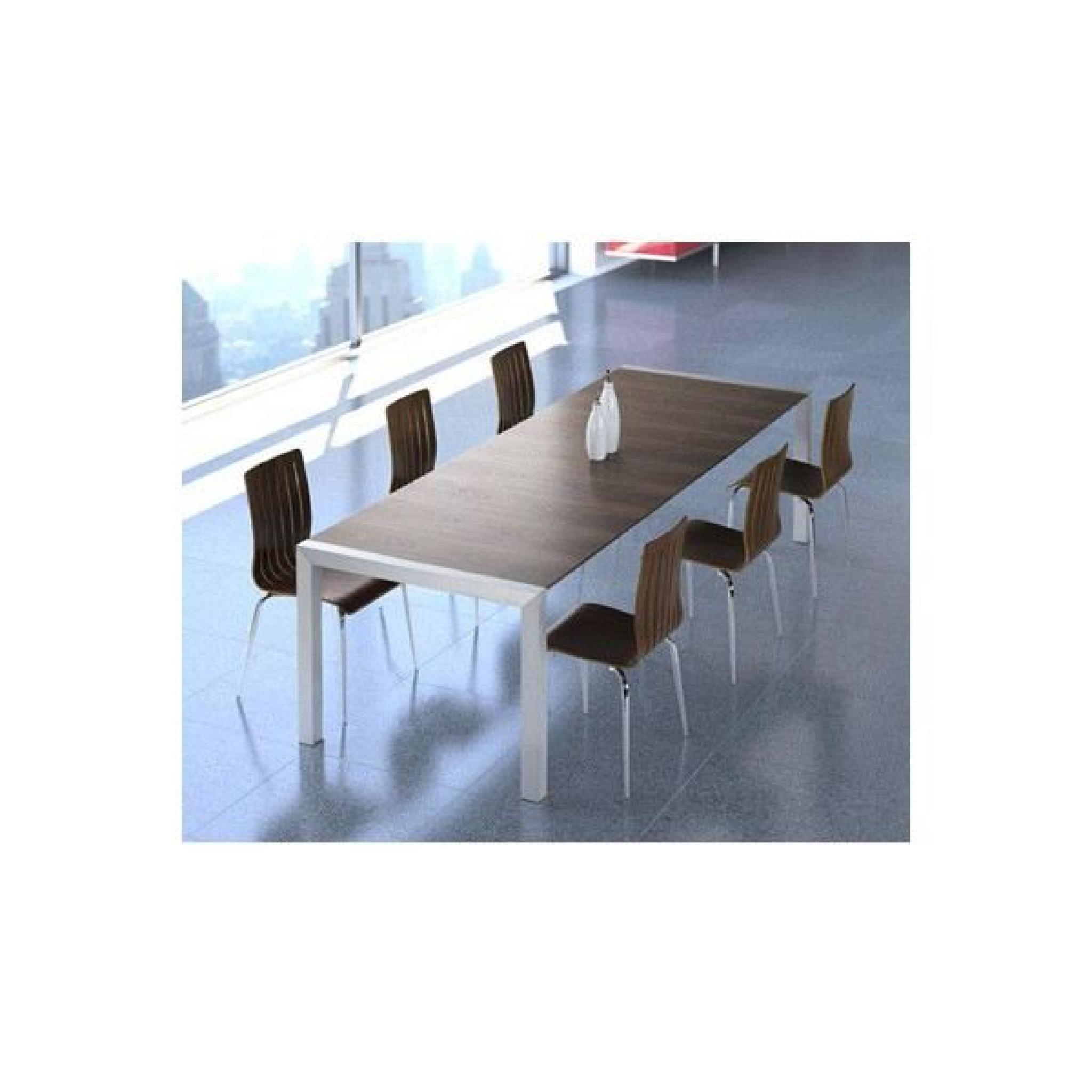 Table extensible design Marcy pas cher