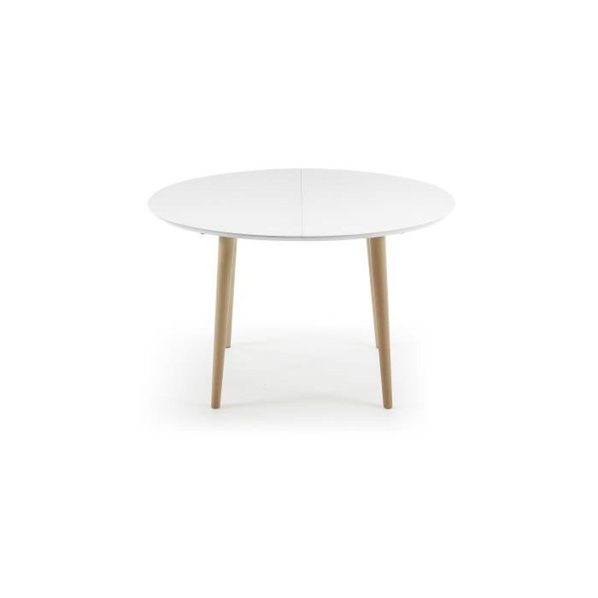 Ovale Extensible 120 200 Blanc CmNaturel Oqui Et Table w8m0OvnN