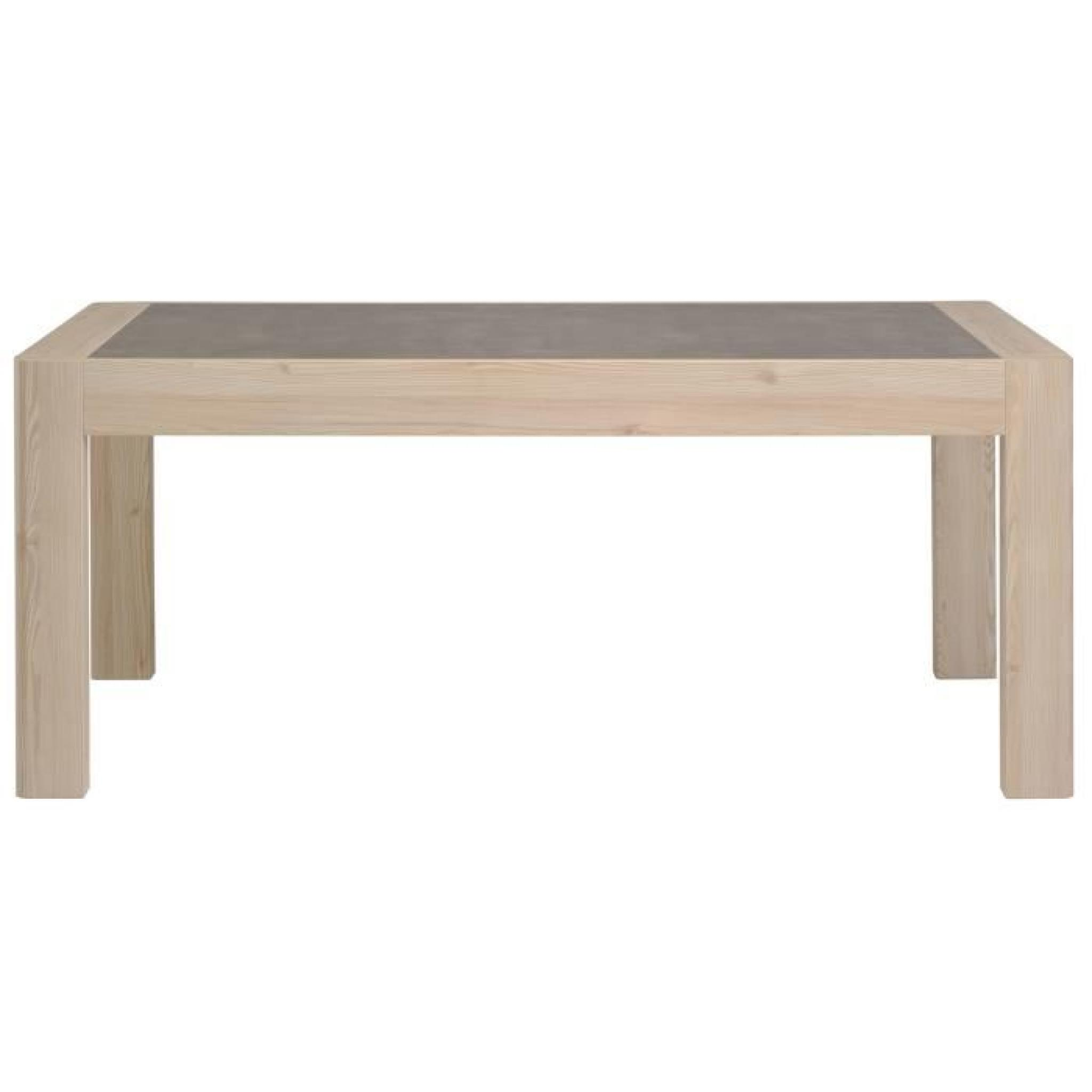 Table chene clair avec rallonge fabulous with table chene - Table chene clair avec rallonge ...