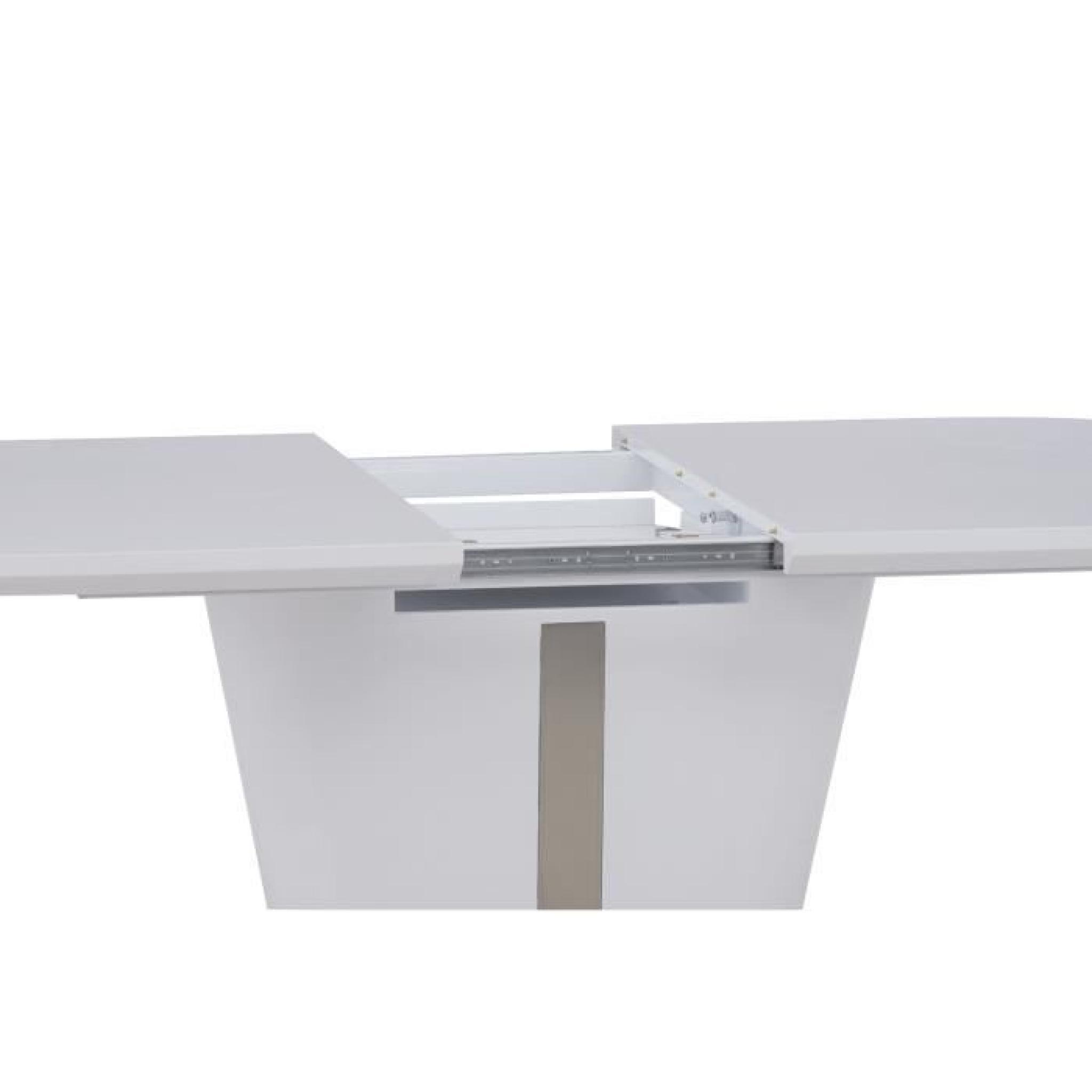 Table de chevet blanc laque pas cher type de meuble for Meuble salle de bain blanc laque pas cher