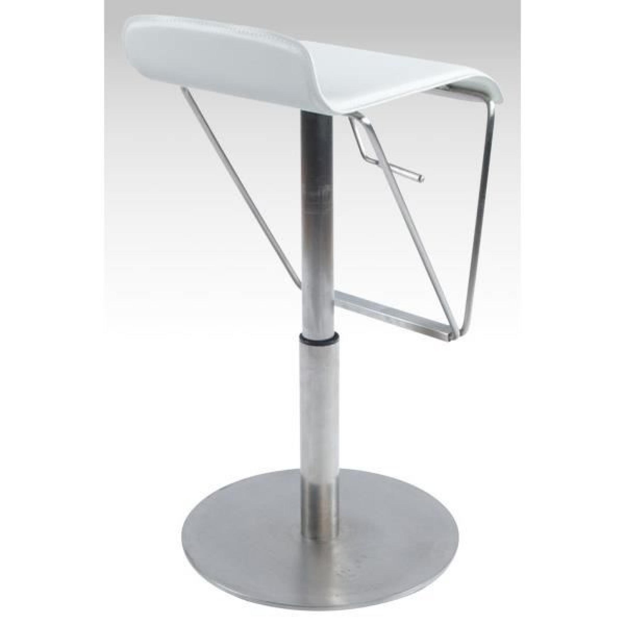 tabouret de bar design en polyur thane de coule achat vente tabouret de bar pas cher. Black Bedroom Furniture Sets. Home Design Ideas