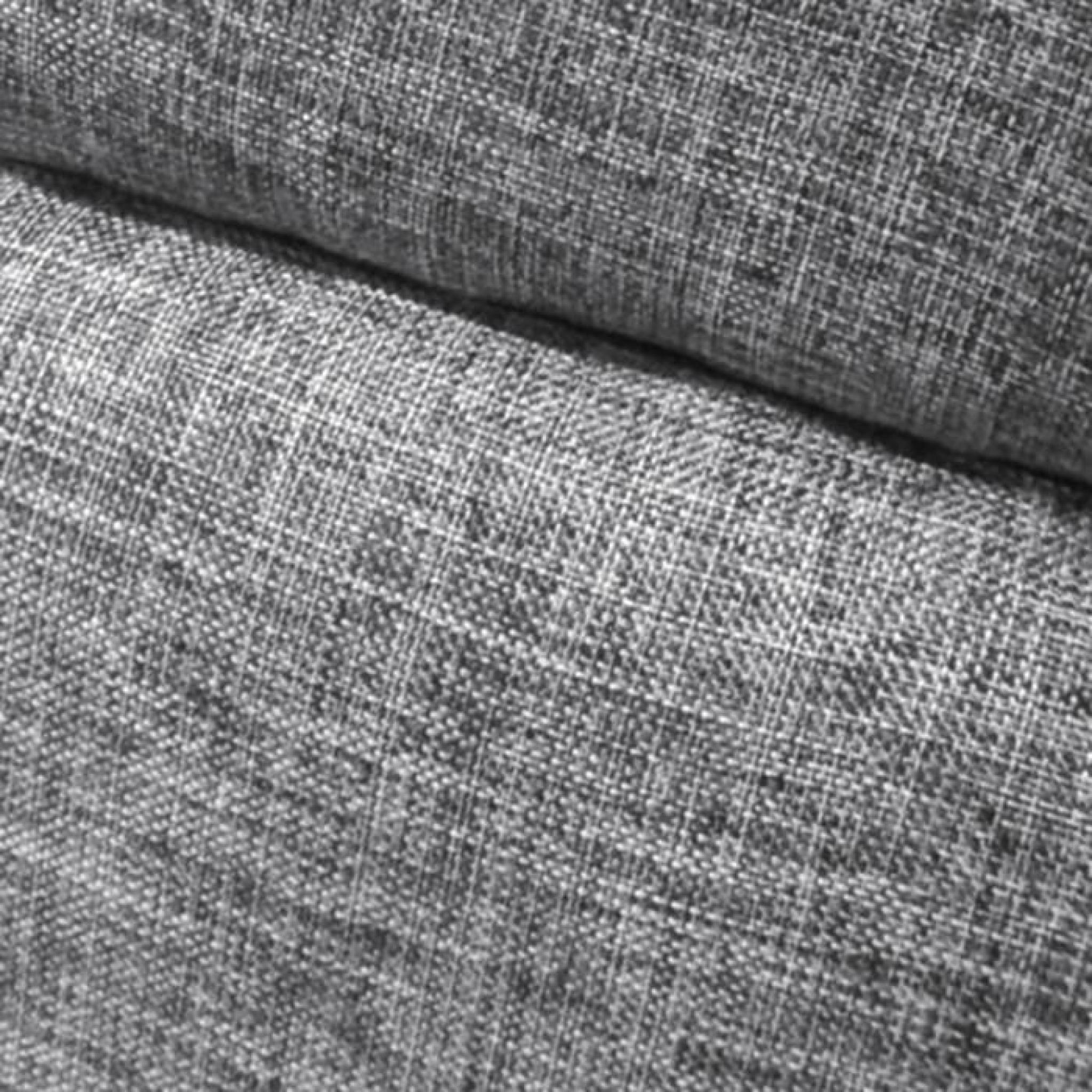 T te de lit capitonn e orphea 140cm tissu gris achat vente tete de lit pas - Tete de lit capitonnee tissu ...