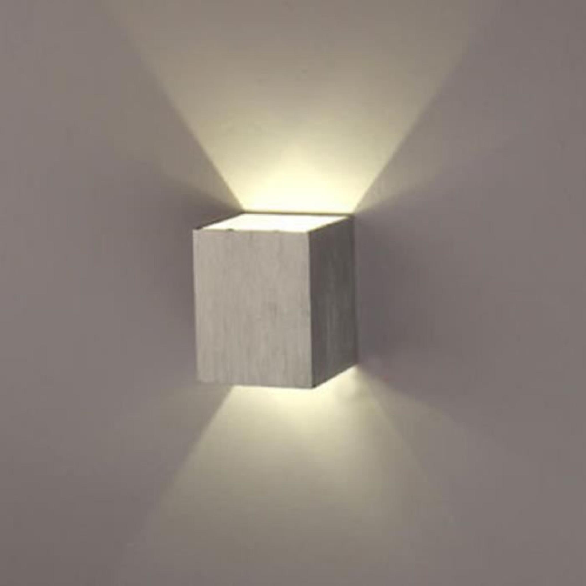 3w Carrée Un Applique Murale Led Chambreescaliersallonbureauporchepasserelle Pour Lampe TZuOwPkXi