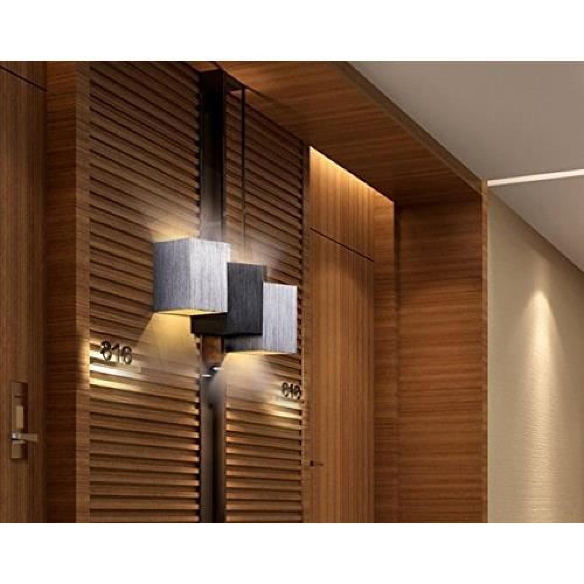 un applique murale 3w led lampe carrée murale pour chambre/escalier