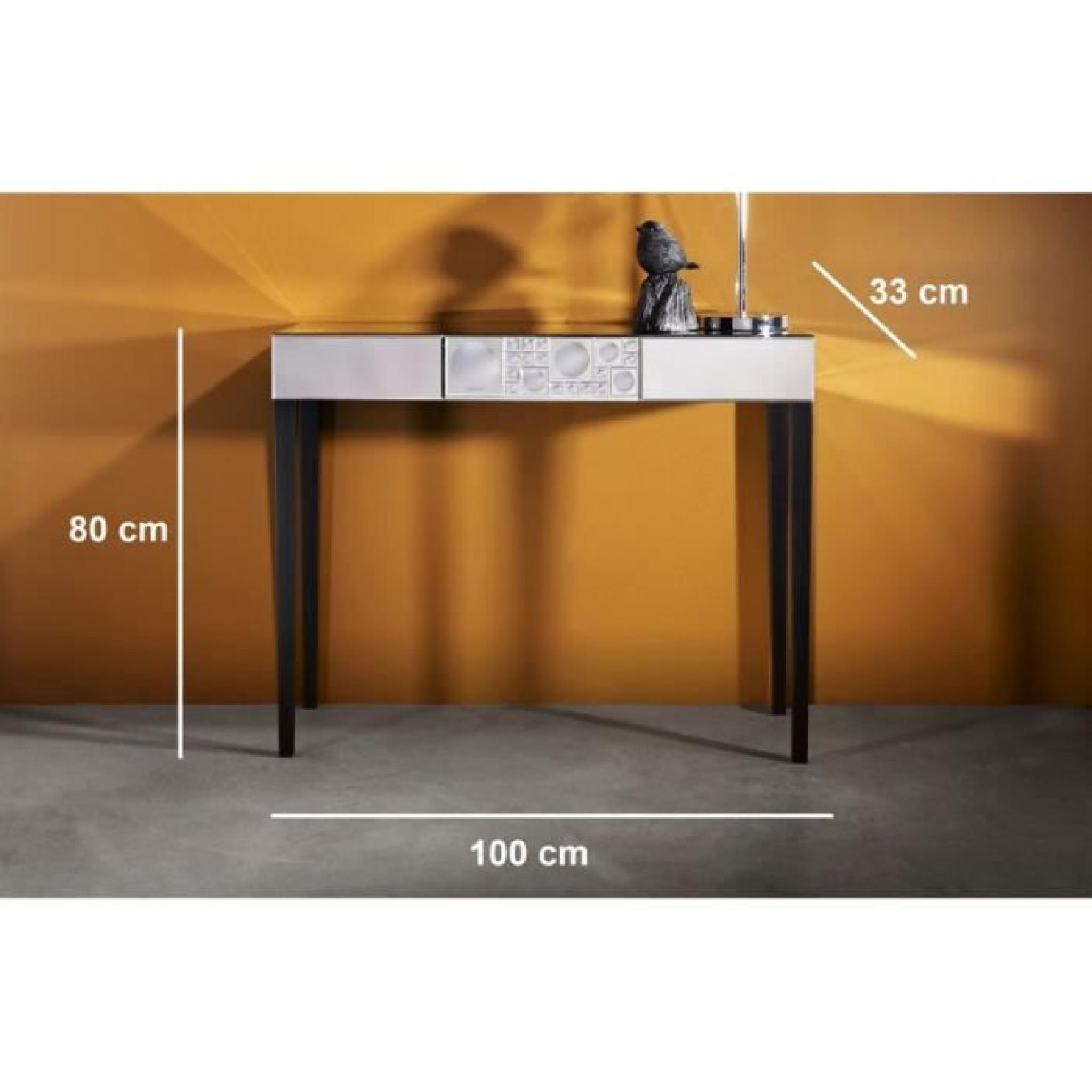 ur ensemble console miroir design achat vente console meuble pas cher couleur et. Black Bedroom Furniture Sets. Home Design Ideas