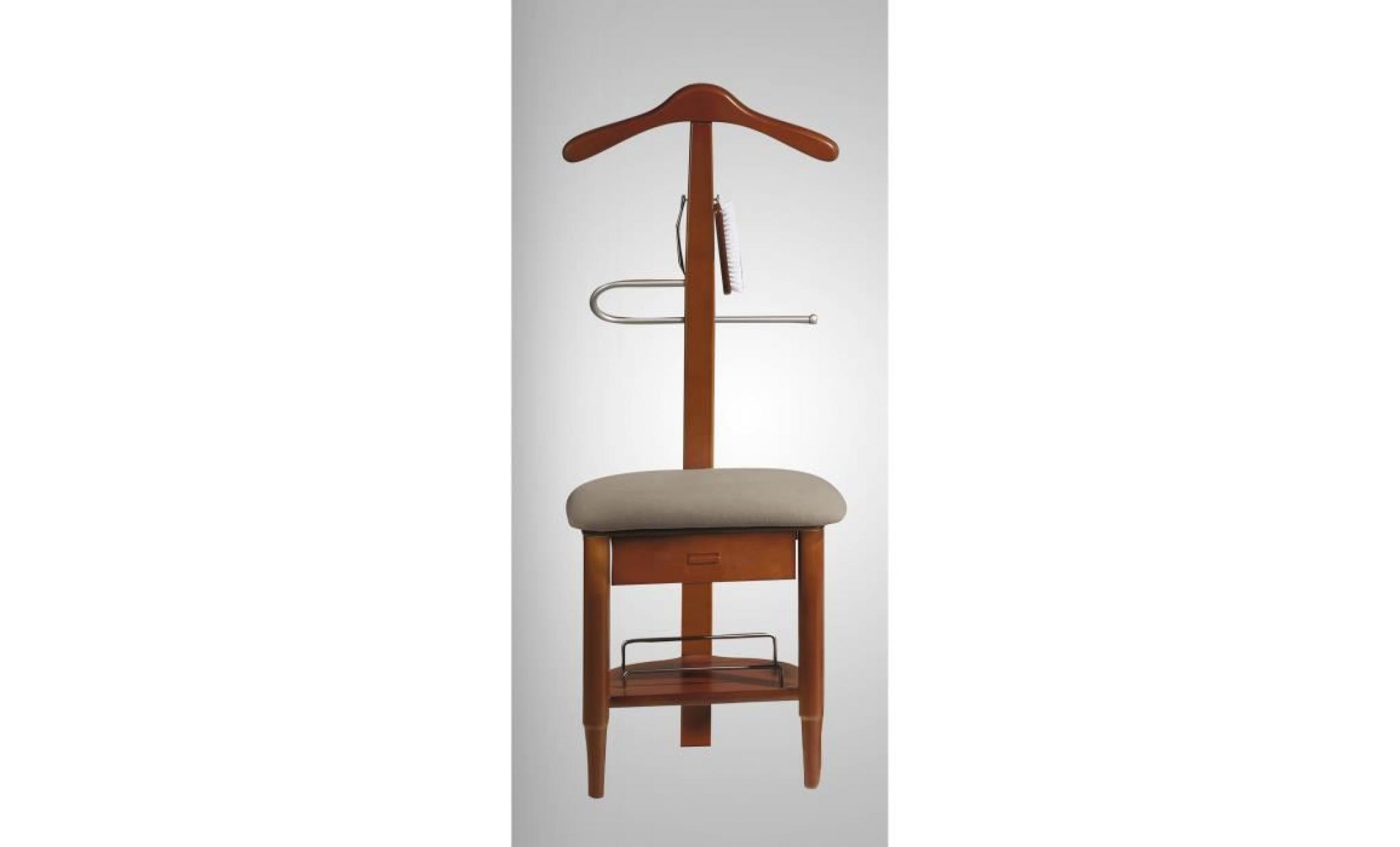 valet de nuit sous forme de chaise en h tre mas achat vente valet de chambre pas cher. Black Bedroom Furniture Sets. Home Design Ideas