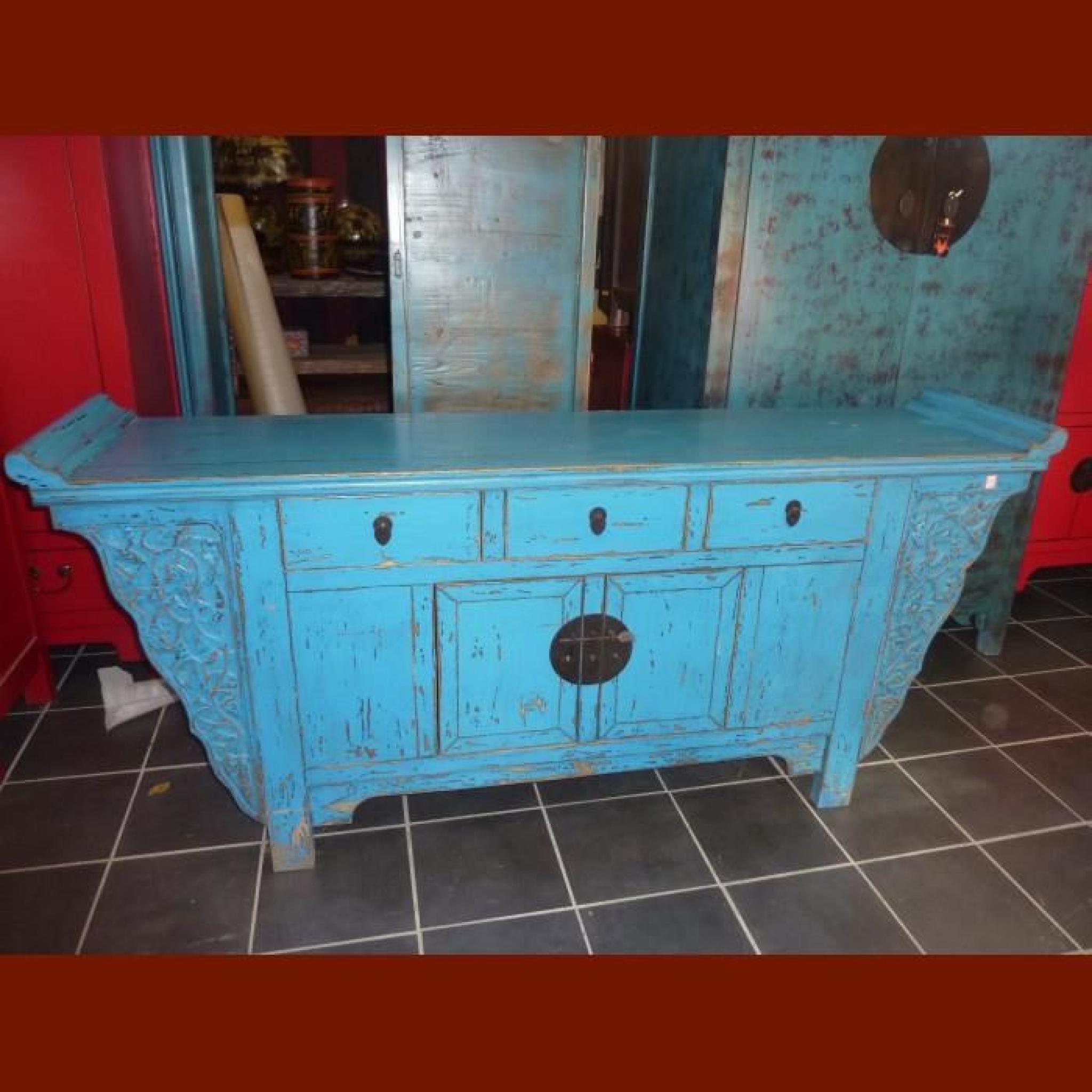 vieux meuble medecine turquoise achat vente buffet pas cher couleur et. Black Bedroom Furniture Sets. Home Design Ideas