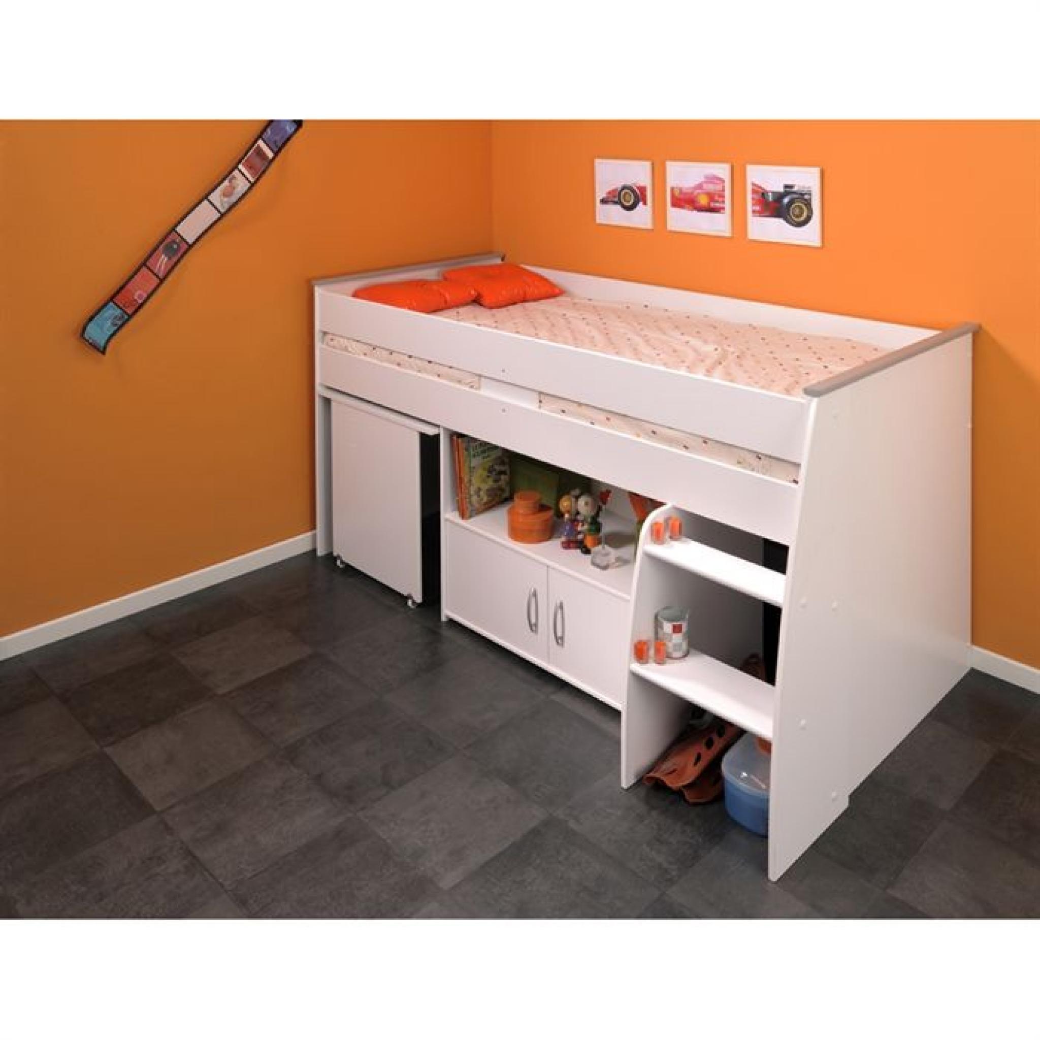 zola lit enfant combin 90x200 achat vente lit superpose. Black Bedroom Furniture Sets. Home Design Ideas