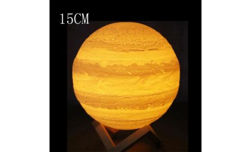 Lampe a poser Aucune  - 3d usb hand contact lights jupiter night light luminoustable desk lamp gift  qinhig2569 pas cher