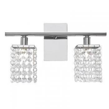 Applique murale   chrome - Applique Pyton chrome 2x33w - EGLO LIGHTING pas cher