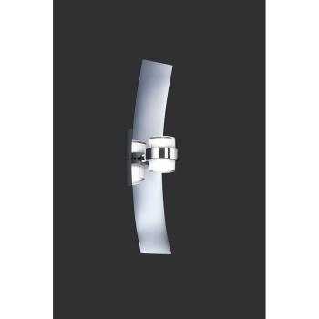Applique murale   metal - Applique Sail, 2 LED, métal chrome pas cher