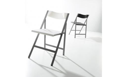 Chaise salle a manger  - Chaise Greorg, blanc pas cher