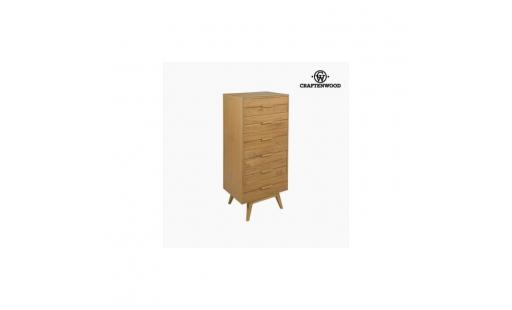 Commode Aucune  - chiffonnier bois mindi (118 x 55 x 40 cm)   collection serious line by craftenwood   s0106163 pas cher