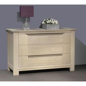 Commode  - COMMODE 3TIROIRS COLLECTION JAVA pas cher