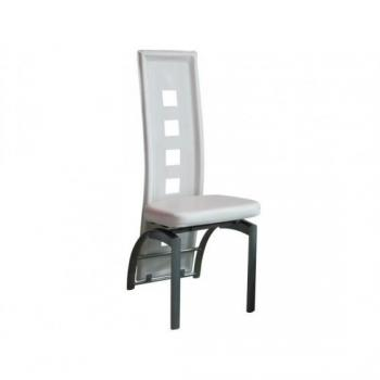 Chaise salle a manger  - Eve - Chaise Blanche pas cher