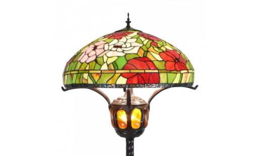 Lampadaire  - Lampadaire Tiffany pas cher