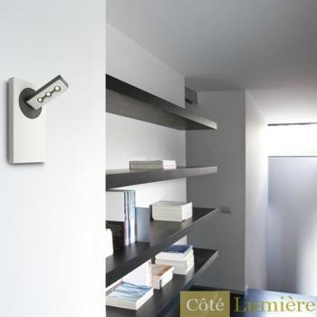 Applique murale   blanc - Lirio - Applique LED Ponato 1 spot - Philips pas cher