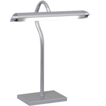 Luminaire de table LED SMD 5W lampe bureau office lecture métal argent spot mobile