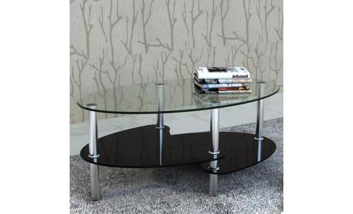 Table basse Vidaxl  - table basse avec design exclusif noir table basse palette de salon chambre pas cher
