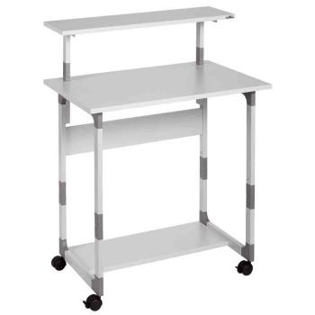 Bureau ordinateur  - Table d'ordinateur SYSTEM Computer Trolley 80 VH,  pas cher