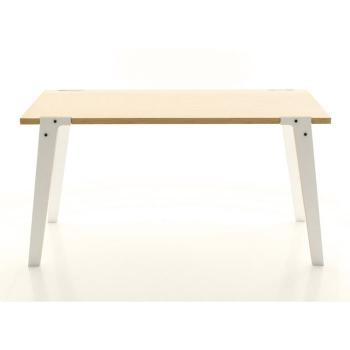 Table salle a manger   75 cm - Table design Switch Medium Couleur Blanc pas cher