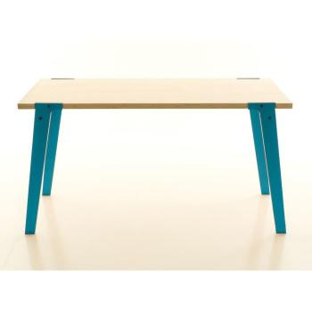 Table salle a manger   75 cm - Table design Switch Medium Couleur Bleu pas cher