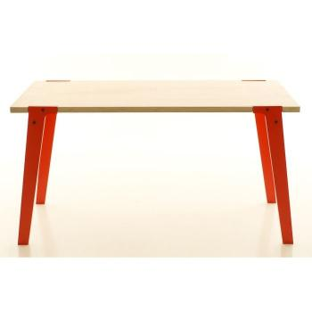Table salle a manger   75 cm - Table design Switch Medium Couleur Orange pas cher